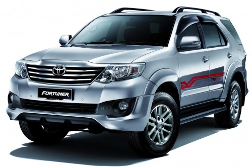 In Malaysia market, 2012 Toyota Fortuner is priced from 167,990