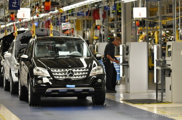 Mercedes benz mlc class suv to build at alabama plant for Mercedes benz jobs alabama
