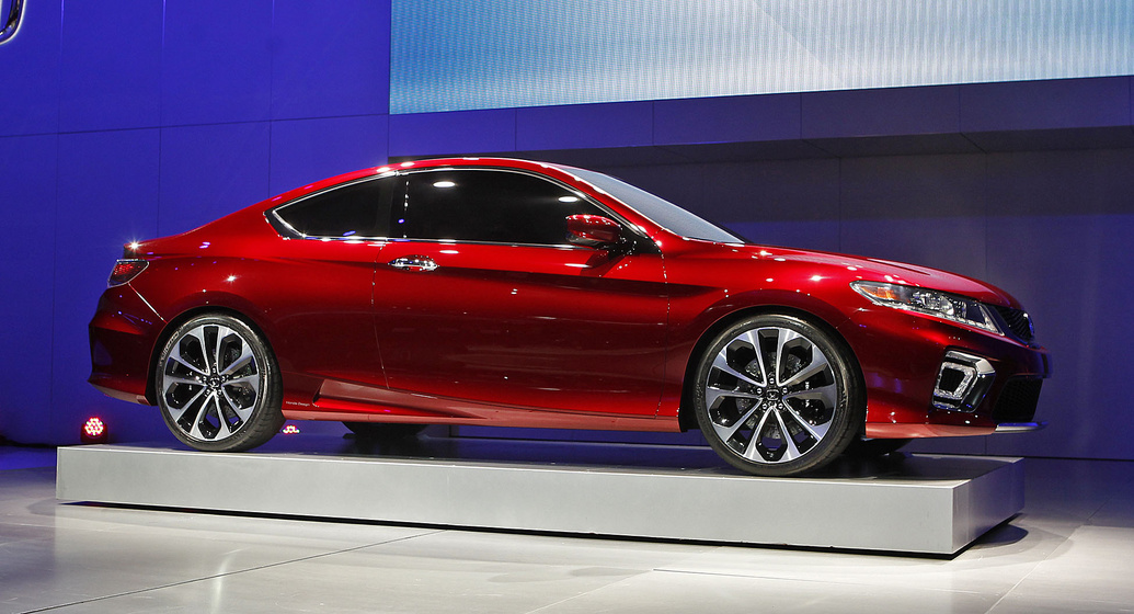 2013 honda accord coupe concept unveiled at 2012 detroit auto show. Black Bedroom Furniture Sets. Home Design Ideas