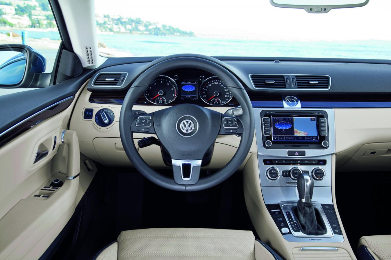 2013 Volkswagen CC facelift launch in Southern France