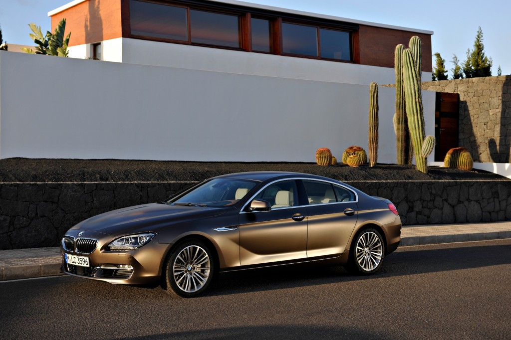 2013 bmw 6 series gran coupe price from 76 895 in the u s market. Black Bedroom Furniture Sets. Home Design Ideas