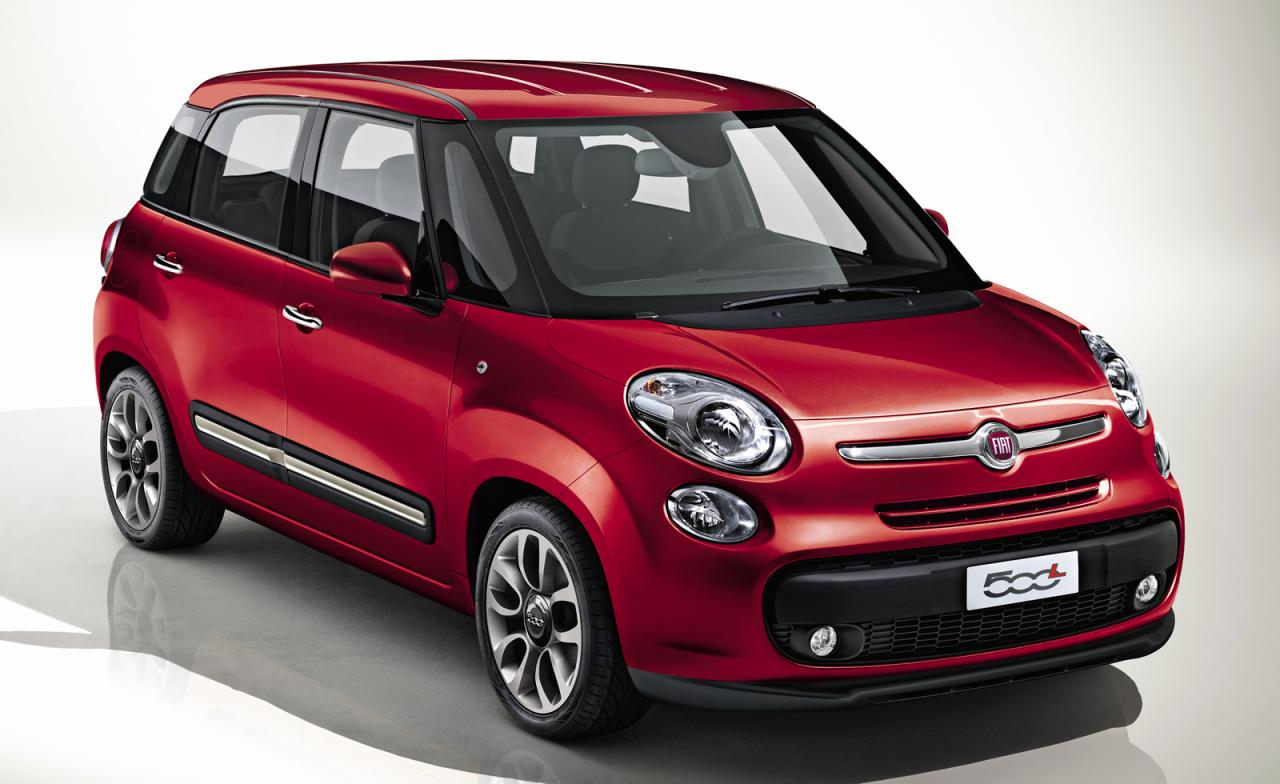 2013 fiat 500l released. Black Bedroom Furniture Sets. Home Design Ideas
