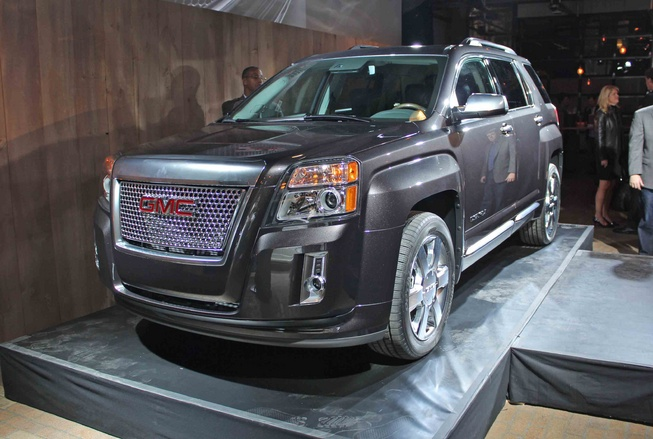 2013 gmc terrain denali officially unveiled. Black Bedroom Furniture Sets. Home Design Ideas