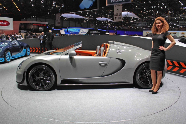bugatti veyron grand sport vitesse officially unveiled. Black Bedroom Furniture Sets. Home Design Ideas