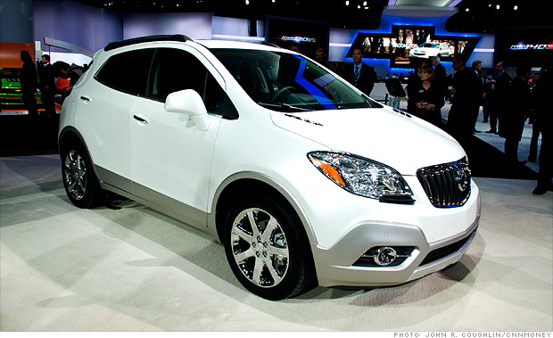Debuting at the 2012 Detroit Auto Show, the 2013 Buick Encore could
